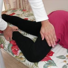 大腿部の調整